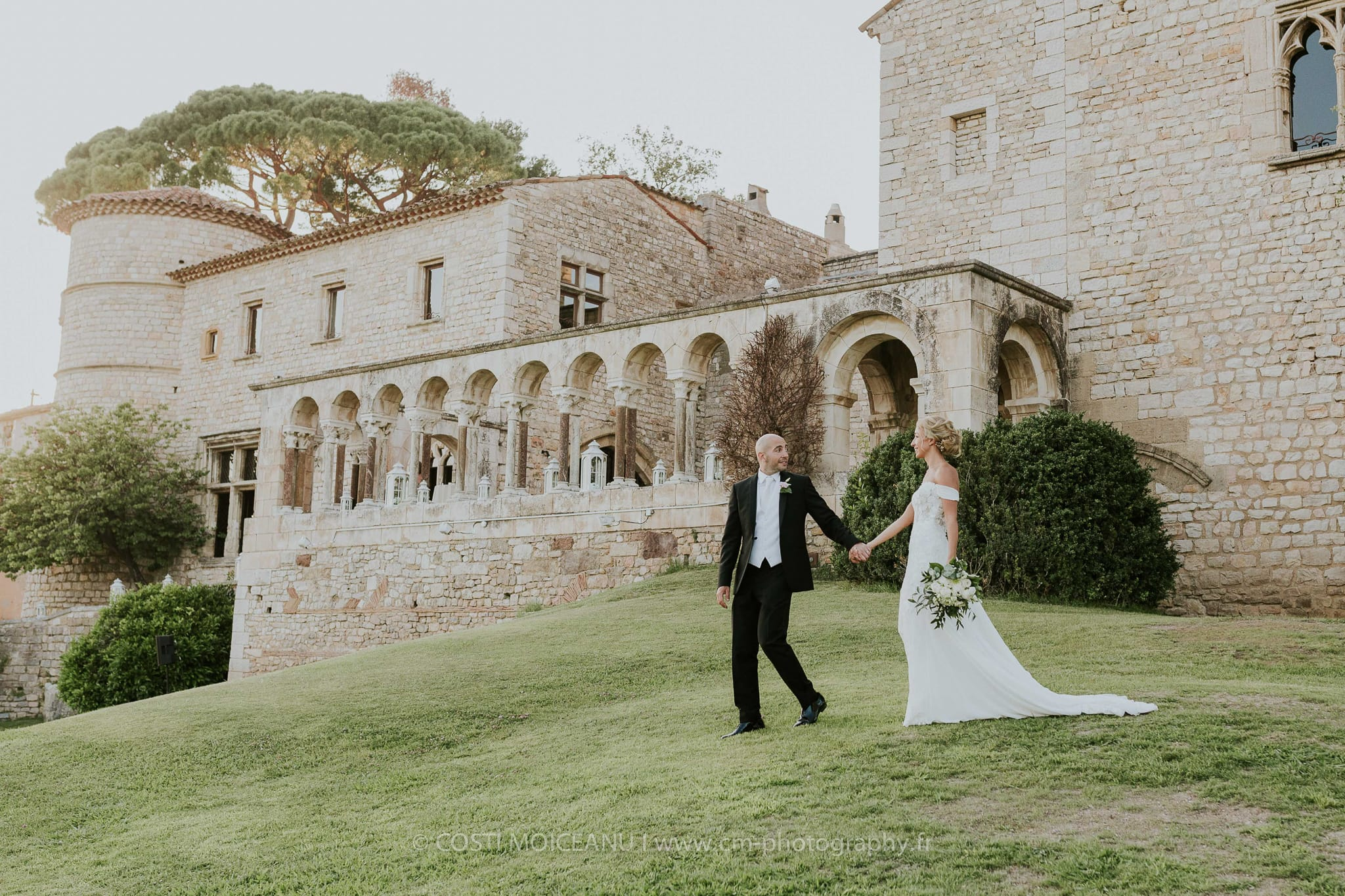 Priscilla & Vincent - Chateau Castellaras - Costi Moiceanu